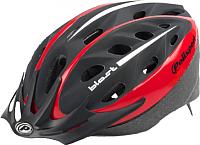 Защитный шлем Polisport Blast 58/61 (L, черный/матовый красный) -
