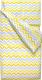 Детское постельное белье Martoo Comfy B (бязь, желтый/серый) -
