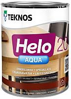 Лак Teknos Helo Aqua 20 Semimatt (900мл, полуматовый) -