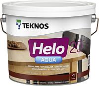 Лак Teknos Helo Aqua 20 Semimatt (2.7л, полуматовый) -