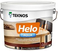 Лак Teknos Helo Aqua 40 Semigloss (9л, полуглянцевый) -