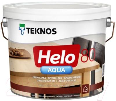 Лак Teknos Helo Aqua 80 Gloss (9л, глянцевый)