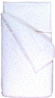 Комплект постельного белья Martoo Comfy B 1.5 (поплин, бежевые звезды/белый) -