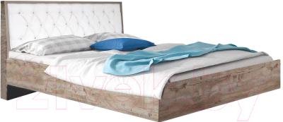 Двуспальная кровать Мебель-КМК 1600 Риксос 0644.10