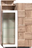 Шкаф с витриной Мебель-КМК Риксос 0644.2 (левый) -