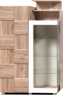 Шкаф с витриной Мебель-КМК Риксос 0644.3 (правый)