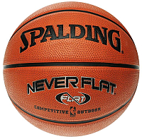 Баскетбольный мяч Spalding Neverflat / 63-803 (размер 7) -