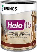 Лак Teknos Helo 15 Matt (450мл, матовый) -