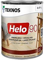 Лак Teknos Helo 90 Glossy Kiiltava (450мл, глянцевый) -