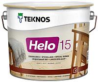 Лак Teknos Helo 15 Matt Himmea (2.7л, матовый) -