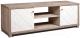 Тумба Мебель-КМК Кристал 0650.10 (дуб юккон/белый жемчуг) -