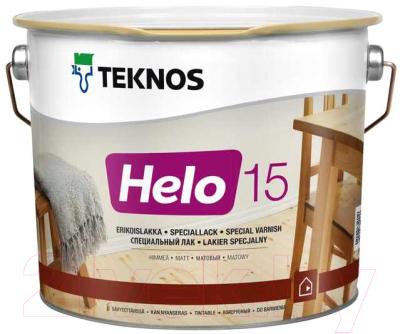 Лак Teknos Helo 15 Matt Himmea (9л, матовый)