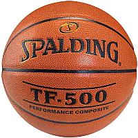 Баскетбольный мяч Spalding TF-500 / 74-529 (размер 7) -