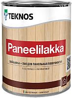 Лак Teknos Paneelilakka (900мл, полуматовый) -