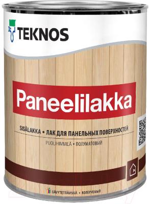 Лак Teknos Paneelilakka (900мл, полуматовый)