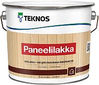 Лак Teknos Paneelilakka (2.7л, полуматовый) -