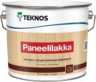 Лак Teknos Paneelilakka (2.7л, полуматовый)