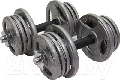 Набор гантелей разборных Atlas Sport Хаммертон (2x16.5 кг)