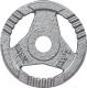 Диск для штанги Atlas Sport Хаммертон 2,5кг d26мм -