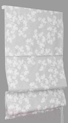 Римская штора Delfa Мини Lira СШД-01М-154/001 (57x160, белый)