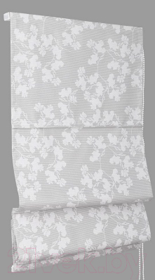 Римская штора Delfa Мини Lira СШД-01М-154/001 (73x160, белый)