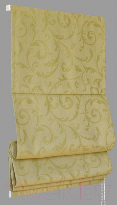 Римская штора Delfa Мини Fantezi СШД-01М-134/006 (52x160, оливковый)