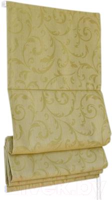 Римская штора Delfa Мини Fantezi СШД-01М-134/006 (68x160, оливковый)