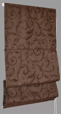 Римская штора Delfa Мини Fantezi СШД-01М-134/008 (43x160, корица)