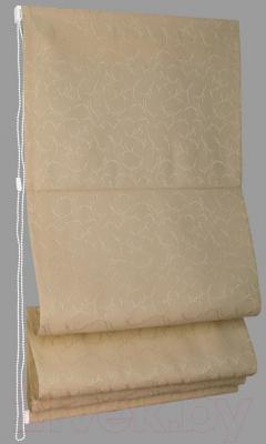 Римская штора Delfa Мини Ligero СШД-01М-161/7590 (43x160, бежевый)