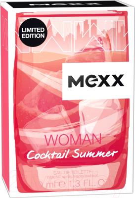 Туалетная вода Mexx Cocktail Summer Woman (40мл)