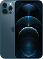 Смартфон Apple iPhone 12 Pro Max 128GB / MGDA3 (тихоокеанский синий) -