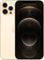 Смартфон Apple iPhone 12 Pro Max 256GB / MGDE3 (золото) -