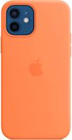 Чехол-накладка Apple Silicone Case with MagSafe для iPhone 12/12 Pro / MHKY3 (кумкват) -