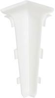 Уголок для плинтуса Arbiton Indo 40 Белый матовый (внутренний) -