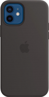 Чехол-накладка Apple Silicone Case with MagSafe для iPhone 12/12 Pro / MHL73 (черный) -