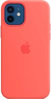 Чехол-накладка Apple Silicone Case with MagSafe для iPhone 12/12 Pro / MHL03 (розовый цитрус) -