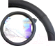 Оплетка на руль AVG B316 / 310163 (кожа, черный с перфорированными вставками) -