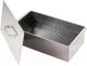 Коптильня Кедр С поддоном 42x27x27.5 / К2-0.8НП-В (0.8мм, нержавеющая сталь) -