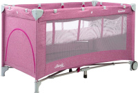 Кровать-манеж Caretero Basic Plus (Lavenda) -