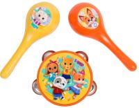 Музыкальная игрушка Кошечки-Собачки Бубен и маракасы / 38367 -