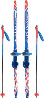 Комплект беговых лыж Nordway DXT008MX12 / A20ENDXT008-MX (р-р 120, мультицвет) -
