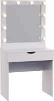 Туалетный столик с зеркалом Мир Мебели SV-12 с подсветкой -