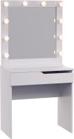 Туалетный столик с зеркалом Мир Мебели SV-13 с подсветкой -
