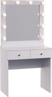 Туалетный столик с зеркалом Мир Мебели SV-14 с подсветкой -