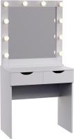 Туалетный столик с зеркалом Мир Мебели SV-15 с подсветкой -