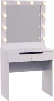 Туалетный столик с зеркалом Мир Мебели SV-16 с подсветкой -