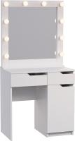 Туалетный столик с зеркалом Мир Мебели SV-23 с подсветкой -