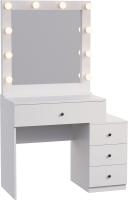 Туалетный столик с зеркалом Мир Мебели SV-44 с подсветкой -
