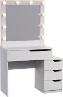 Туалетный столик с зеркалом Мир Мебели SV-46 с подсветкой -
