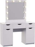 Туалетный столик с зеркалом Мир Мебели SV-52 с подсветкой -